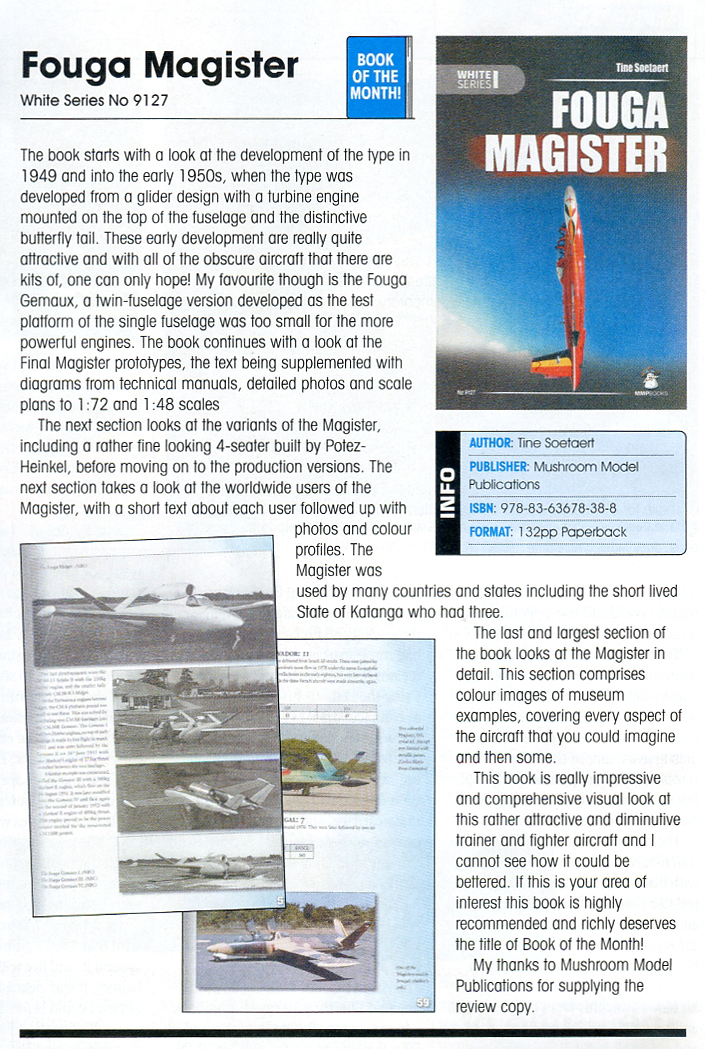 Fouga review SAMI June 2015
